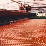 Impianto riscaldamento a pavimento industriale